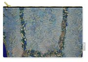 Hearted On Your Wall Again Medalion Painting Carry-all Pouch