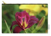 Hearts Afire Daylily Carry-all Pouch