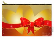 Hearts And Bow Carry-all Pouch
