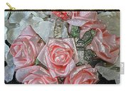 Hearts And Roses Carry-all Pouch