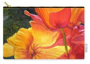 Hearts Of Poppies Carry-all Pouch