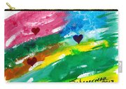 heARTs Of The Sea Carry-all Pouch