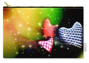 Hearts Racing Carry-all Pouch