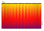 Heat Wave Abstract Design Carry-all Pouch