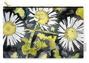 Heath Aster Flower Art Print Carry-all Pouch