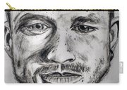 Heath Ledger Charcoal Sketch Carry-all Pouch