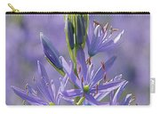 Heavenly Blue Camassia Carry-all Pouch