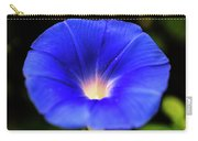 Heavenly Blue Morning Glory Closeup Carry-all Pouch