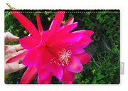 Heavenly Epiphyllum Orchid Cactus Carry-all Pouch