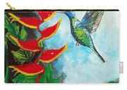 Heavenly Heliconia Carry-all Pouch