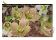 Heavenly Hellebores Carry-all Pouch