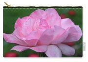 Heavenly Pink Rose Carry-all Pouch
