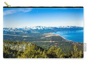 Heavenly South Lake Tahoe View 1 - Left Panel Carry-all Pouch