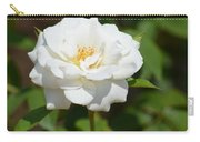Heavenly White Rose Carry-all Pouch