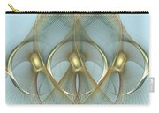Heavenly Wings Of Gold Carry-all Pouch