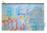 Hebrew Prayer- Nishmat Kol Chai Carry-all Pouch