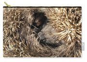 Hedgehog Curled Up Carry-all Pouch