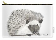 Hedgehog Painting Carry-all Pouch