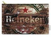 Heineken Beer Wood Sign 1a Carry-all Pouch