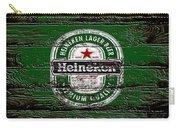 Heineken Beer Wood Sign 2 Carry-all Pouch