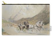 Heinrich Gottfried Wilda, Imperial Carriage Exit In Salzkammergut Carry-all Pouch