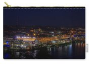Heinz Field At Night From Mt Washington Carry-all Pouch