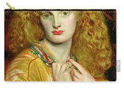 Helen Of Troy Carry-all Pouch by Dante Charles Gabriel Rossetti