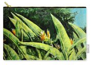 Heliconia Flowers 6 Carry-all Pouch