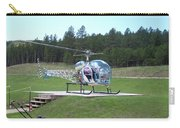 Helicopter Ride South Dakota Carry-all Pouch