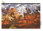 Heavy Weather News - Abstract Modern Art Carry-all Pouch