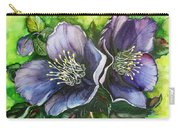 Helleborous Blue Lady Carry-all Pouch