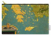 Hellenic Peninsula Greece, Albania, Bosnia And Bulgaria Carry-all Pouch
