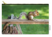 Hello Are You Gonna Eat All That? Chipmunk And Squirrel Carry-all Pouch