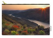 Hells Canyon Sunrise Carry-all Pouch