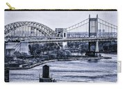 Hells Gate Bridge Triborough Bridge  Carry-all Pouch