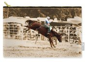 Helluva Rodeo-the Ride 4 Carry-all Pouch