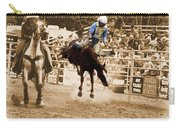 Helluva Rodeo-the Ride 5 Carry-all Pouch