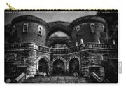 Helsingborg Black And White Carry-all Pouch