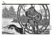 Hemmings Unicycle, 1869 Carry-all Pouch by Granger