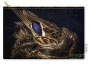 Hen Preening Carry-all Pouch