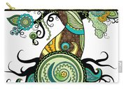 Henna Tree Of Life Carry-all Pouch