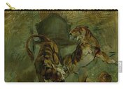 Henri From Toulouse-lautrec 1864 - 1901 Allegory, The Life Spring Carry-all Pouch