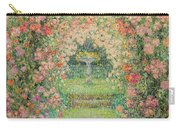 Henri Le Sidaner 1862 - 1939 The Rose Garden, Gerberoy Carry-all Pouch