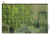 Henri Le Sidaner 1862 - 1939 The Village Table Gerberoy Carry-all Pouch