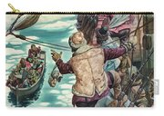 Henry Hudson Being Set Adrift Carry-all Pouch