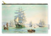 Tranquil Morning - Foochow, The Famous Clipper Thermopylae At Anchor Carry-all Pouch