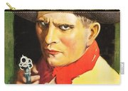 Henry Starr In A Debtor To The Law 1919 Carry-all Pouch