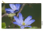 Hepaticas Carry-all Pouch