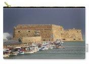 Heraklion Castle Crete Greece Carry-all Pouch