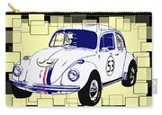 Herbie The Love Bug Carry-all Pouch